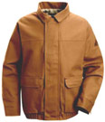 EXCEL-FR™ ComforTouch™Flame Resistant Brown Duck Lined Bomber Jacket