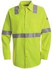 Hi-Visibility Flame Resistant Long Sleeve Work Shirt